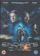 ENDER'S GAME - Harrison Ford, Asa Butterfield, Ben Kingsley (DVD 2014)
