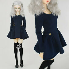 Military Uniform Wind Dress BJD Girl 1/6 1/4 MSD 1/3 SD16 IP Doll Clothes CWB9