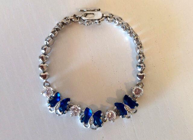 Women Jewelry Set cz cristal plaqué or chaîne collier boucle d/'oreille Bracelet Set