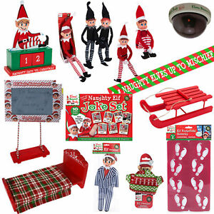 Natale-Elf-Behavin-039-Badly-Elfi-Bambole-amp-Accessori-Scegli-il-Disegno