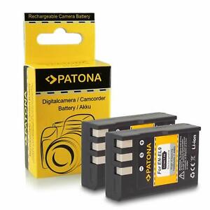 2x Batteria PATONA EN-EL9 / EN-EL9a ricambio per Nikon D40 D40x D60 D3000 D5000