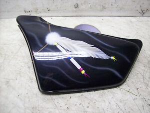 Honda RC09 VF 750C Original Seitendeckel Links unbeschädigt mit allen 3 Noppen