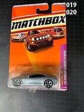 2010//2011 MATCHBOX #1 /'10 FISKER KARMA  HYBRID ∞silver Variant∞Sports Cars