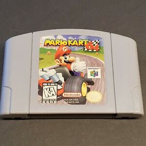 Mario-Kart-64-Nintendo-N64-Authentic-Cartridge-Tested-Game-Only