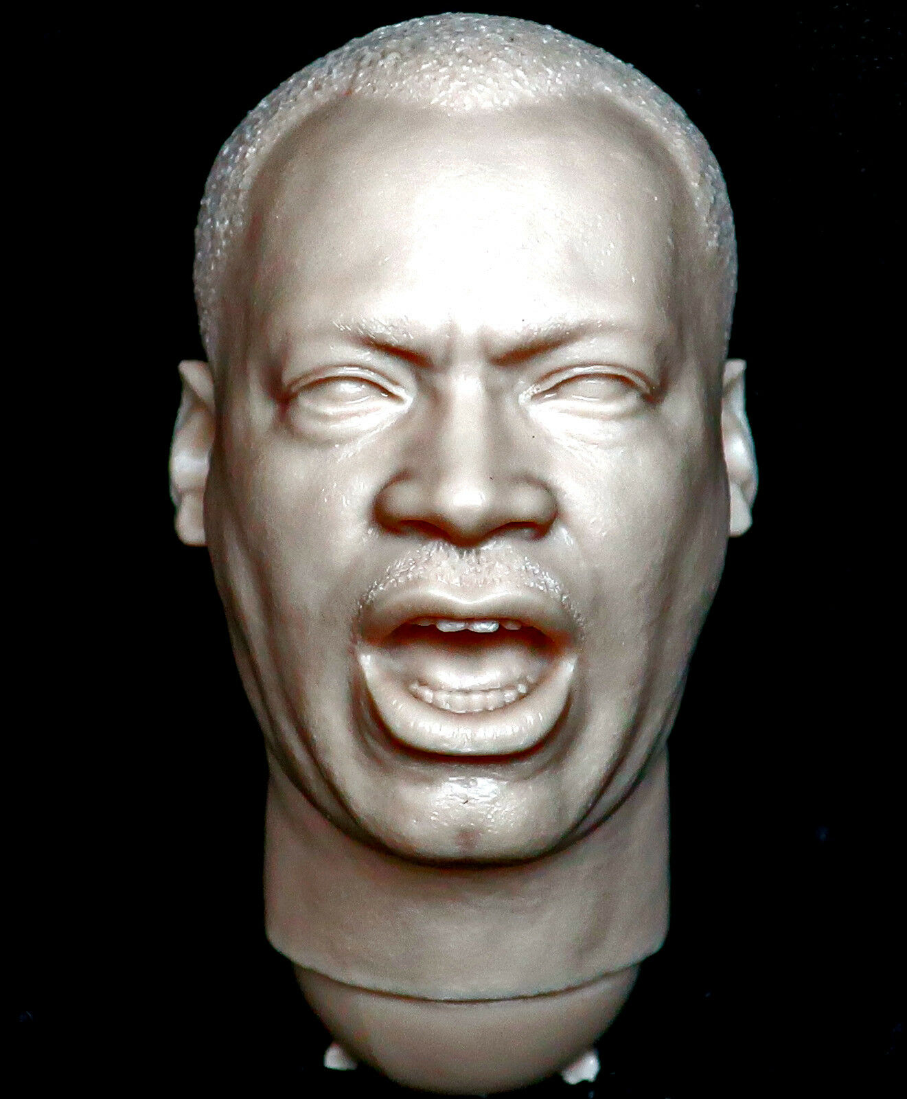 1 6 scale resin unpainted unpainted unpainted action figure head sculpt Martin Luther King 3R did b24ea5