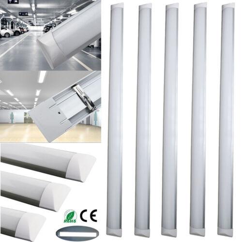 1-10x 4FT 36W LED Batten Tube Light Surface Mount Wall Ceiling Lamp Day White G