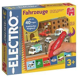 Jumbo-Spiele-Elektro-Wonderpen-Fahrzeug-Praktisches-Ringbuch-Lernspiel-NEU