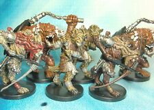 Dungeons & Dragons Miniatures Lot  Gnoll Demon Adept Demonic Gnoll Archer s112