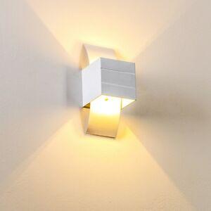 applique murale up down luminaire de couloir spot moderne aluminium blanc 64818 ebay. Black Bedroom Furniture Sets. Home Design Ideas