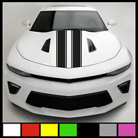 6 Hood Racing Rally Stripe Set Auto Graphic Vinyl Decal Car Truck Universal Fit
