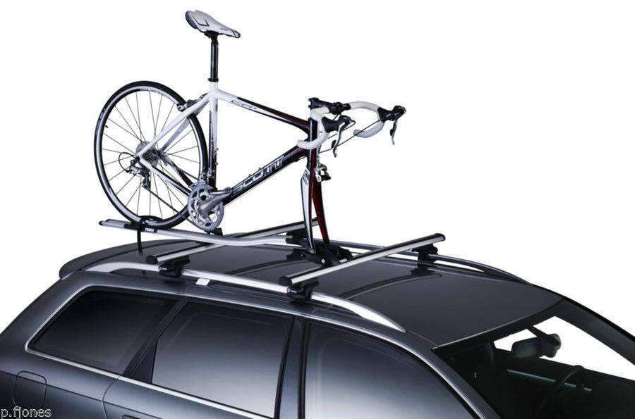 Thule OutRide 561 Roof Bar Mounted Cycle Cycle Cycle Carrier x 2 af0439