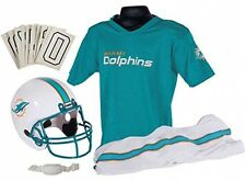 Miami Dolphins Youth Jersey Small Uniform Set NFL Kids Football Helmet Costume