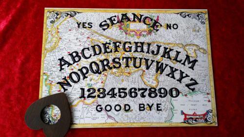 Acrylic Magic Old Dutch Seance Ouija Board /& Planchette Ghost Witchcraft Spirit