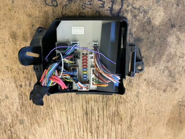 renault modus clio mk3 fusebox including plugs genuine 674654a for sale  online | ebay  ebay