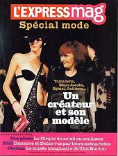 Mag 2004 SPECIAL MODE_SONIA RYKIEL_TOM FORD_MARC JACOBS_TIM BURTON_EDDY MITCHELL