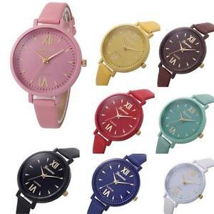 Geneva-Womens-Girls-Watches-Crystal-Faux-Leather-Quartz-Dress-Wrist-Watches