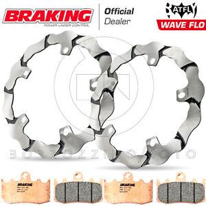 FRENO-BRAKING-RACING-DISCHI-BY101L-PASTIGLIE-ANTERIORI-892CM55-R1200GS-ABS-2009