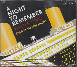 A-Night-to-Remember-Walter-Lord-4CD-Audio-Book-NEW-Titanic-Sinking-Unabridged