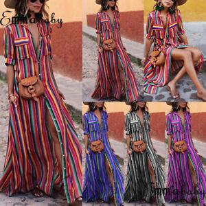 Summer-Women-Boho-Long-Maxi-Dress-Evening-Cocktail-Party-Beach-Dresses-Sundress