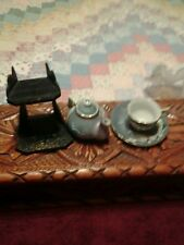 JAPANESE MINITURE TEA SET WITH STAND