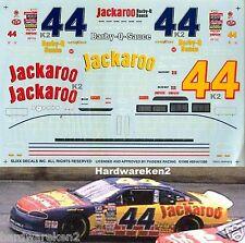 NASCAR DECAL #44 JACKAROO BBQ SAUCE 1995 MONTE CARLO JEFF PURVIS SLIXX