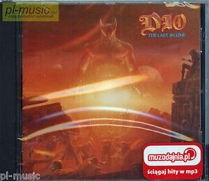 DIO-THE-LAST-IN-LINE-POLISH-STICKERS-CD-sealed-from-Poland