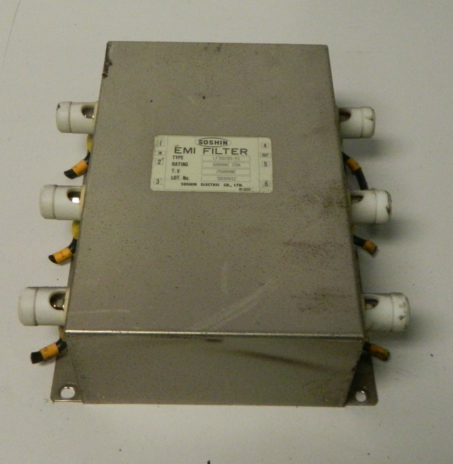 Soshin Emi Filtro De De De Fanuc Robocut Wire Edm, Mod  lf3005a-y1, Usado f41810