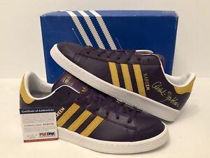 Image is loading Kareem-Abdul-Jabbar-Signed-Adidas-Basketball-Shoes-Los- 7c3f368f6