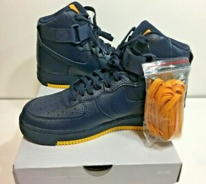 Nike Air Force 1 High 07 1 High Top Mens 8 Womens 9 5 Blue Yellow