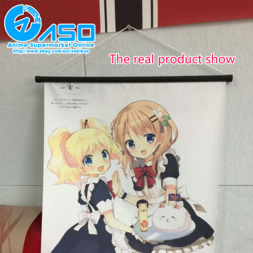 Cute Anime Wall Scroll Poster Yuru camp Character Art Home Decor collection Gift