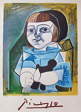 """PABLO PICASSO """"PALOMA EN BLEU"""" 1979 Marina Picasso Collection Lithograph"""