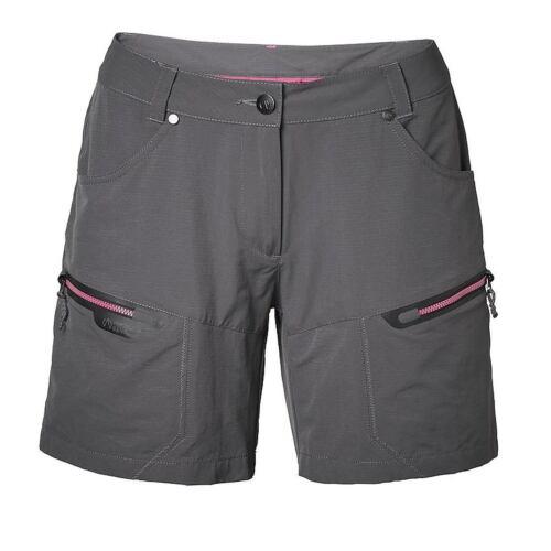 Trekkingshorts North Bend Loyal Stretch Shorts Women grau melange Gr 40