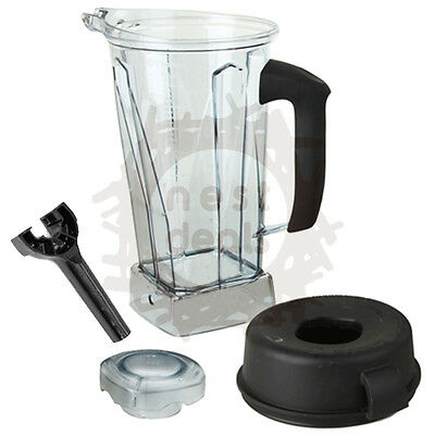 Vitamix 64 Oz Container Replacement Soft Grip Handle Lid Wrench Pitcher