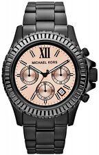 NEW MICHAEL KORS LADIES WATCH MK5872 - CRYSTAL DIAL, BLACK IP EVEREST - WARRANTY
