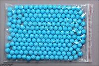 200 Premium Blue Reusable Practice Paintballs Reballs