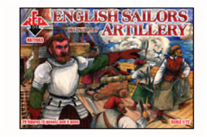 1:72 FIGUREN 72102 Spanish Sailors 16-17 centry Set 1 REDBOX