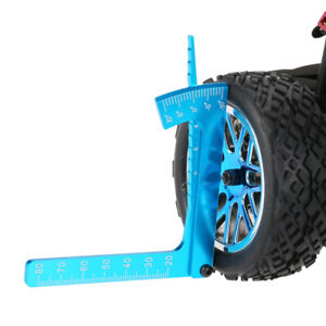 Set-Up-Gauge-Camber-Gauge-Adjustable-Auto-For-1-8-1-10-One-Road-RC-Wheel-Ride