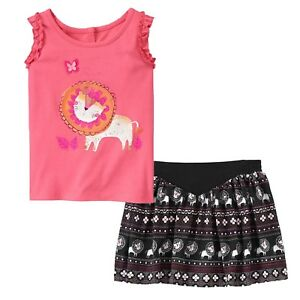 NWT Gymboree girl  embroidered Tank w//Short Outfit 3T