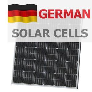 200w 12v solar panel with 5m cable for camper caravan. Black Bedroom Furniture Sets. Home Design Ideas