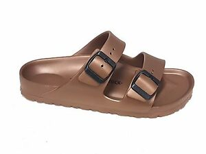 Image is loading Birkenstock-donna-Arizona-eva-bronzo-n-39 18ae7fabb4d