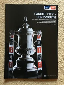 FA CUP Final Programme 2008 Cardiff City V Portsmouth - Reading, Berkshire, United Kingdom - FA CUP Final Programme 2008 Cardiff City V Portsmouth - Reading, Berkshire, United Kingdom