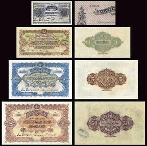 Banque ImpÉriale Ottomane Copy Lot C (1909 - 1914) - Reproductions Wkvaunha-07214310-465907145