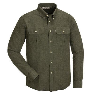 Pinewood Edmonton Flanellhemd Hemd Shirt T-Shirt Outdoor Jagd Forst Grün