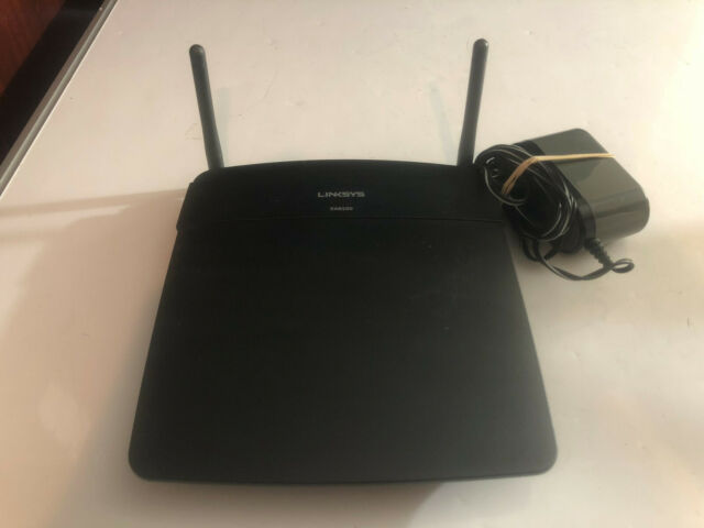 Linksys AC1200 Wi-Fi Wireless Dual-Band+ Router, Smart Wi-Fi App Enabled, EA6100