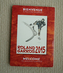 Roland-Garros-welcome-pack-French-open-2015-tennis-Paris-for-collectors