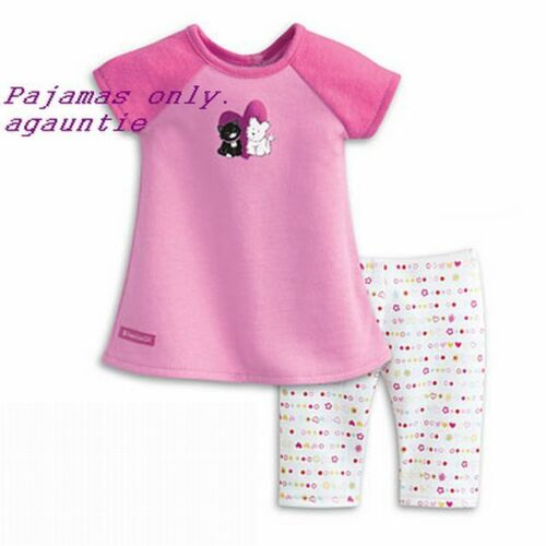 American Girl I Love Pets Pajamas Coconut Grace Isabelle Kanani McKenna Licorice
