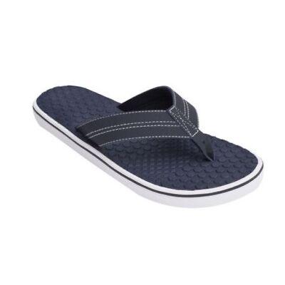 George Men's Checkered Flip Flops