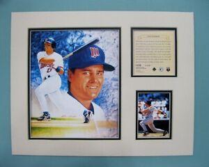 Minnesota Twins Chuck Knoblauch 1995 Baseball 11x14 MATTED Kelly Russell Print