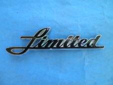 NEW OEM Harley Electra Glide Front Fender Emblem Medallion Nameplate Script