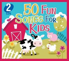 Various Artists - 50 Fun Songs for Kids [New CD]
